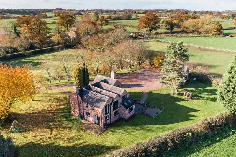 4 Bedrooms Detached House for sale in Broad Heath, Stafford