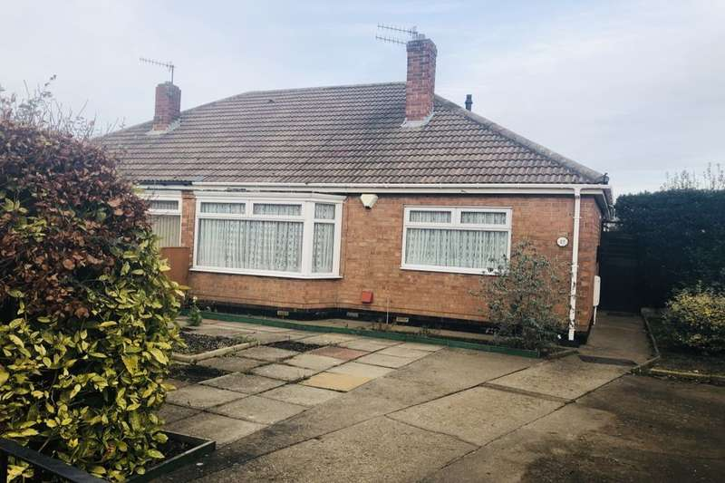 2 Bedrooms Semi Detached Bungalow for sale in Priory Close, Guisborough, TS14