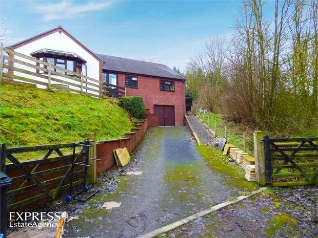 3 Bedrooms Detached Bungalow for sale in Pont Robert, Meifod, Powys