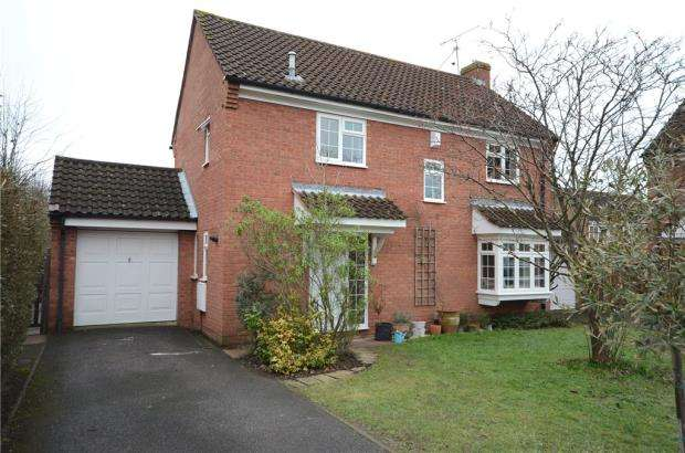 4 Bedrooms Detached House for sale in Huntingdonshire Close, Wokingham, Berkshire