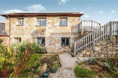 4 Bedrooms Barn Conversion Character Property for sale in Plain-An-Gwarry, Marazion, Cornwall