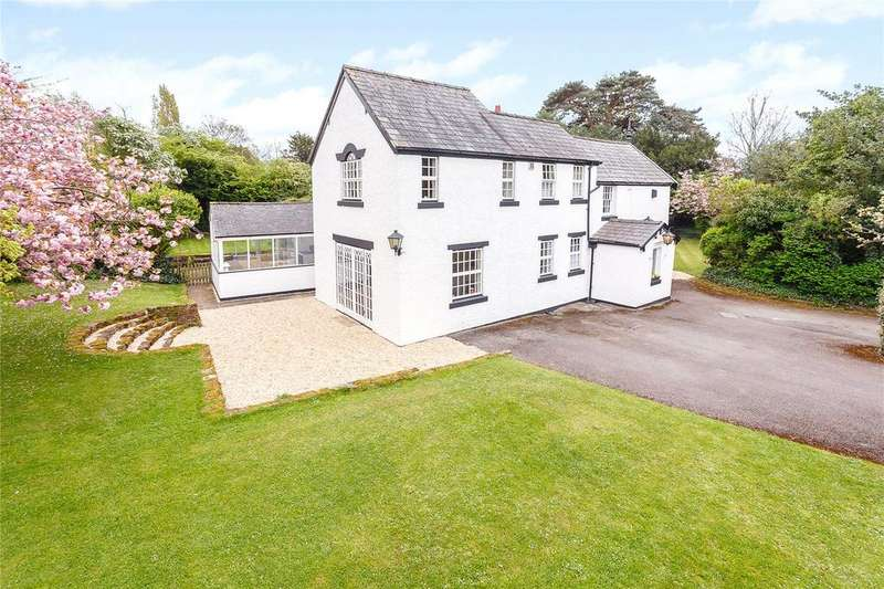 5 Bedrooms Detached House for sale in Whitchurch Road, Waverton, Chester, CH3