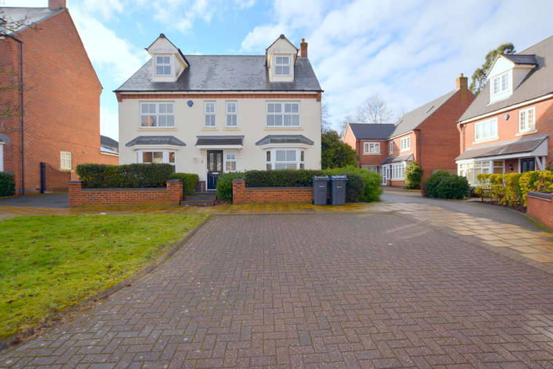 5 Bedrooms Detached House for sale in Cardinal Close, Edgbaston