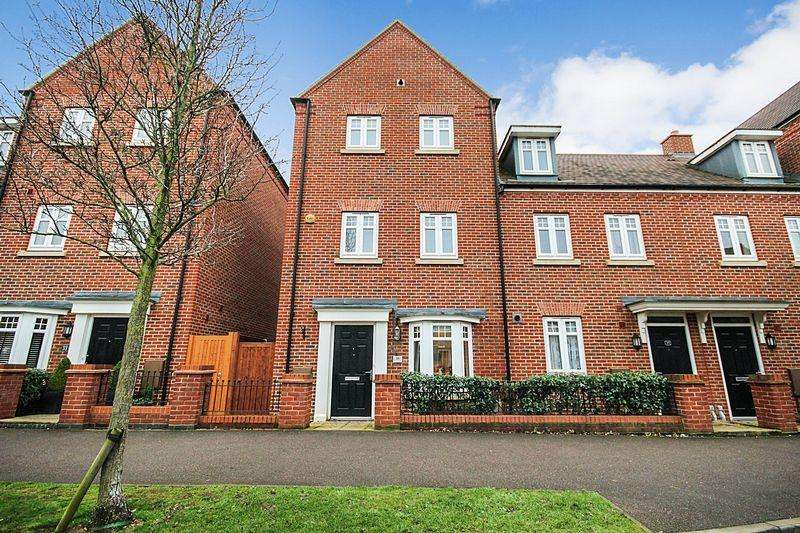 4 Bedrooms End Of Terrace House for sale in Gold Furlong, Marston Moretaine