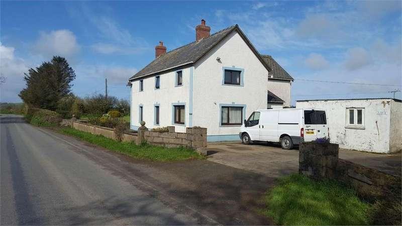 4 Bedrooms Detached House for sale in Filltir Aur, Glanrhyd, Cardigan, Pembrokeshire