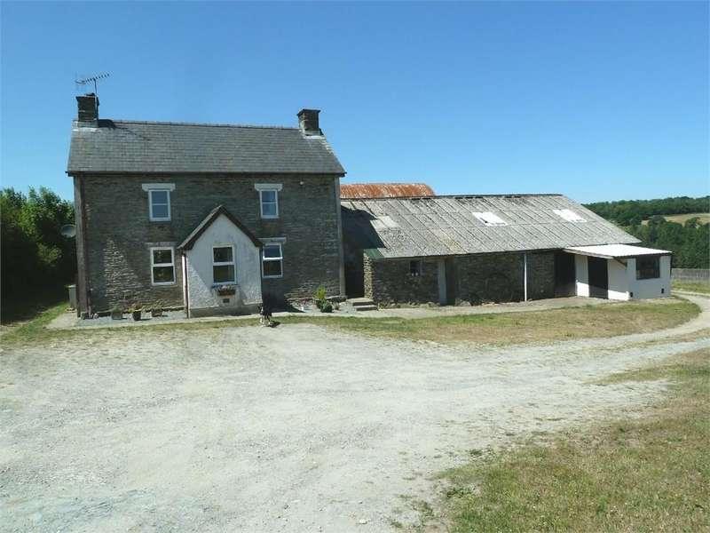 4 Bedrooms Farm House Character Property for sale in Penrallt Goch, Newchapel, Boncath, Pembrokeshire
