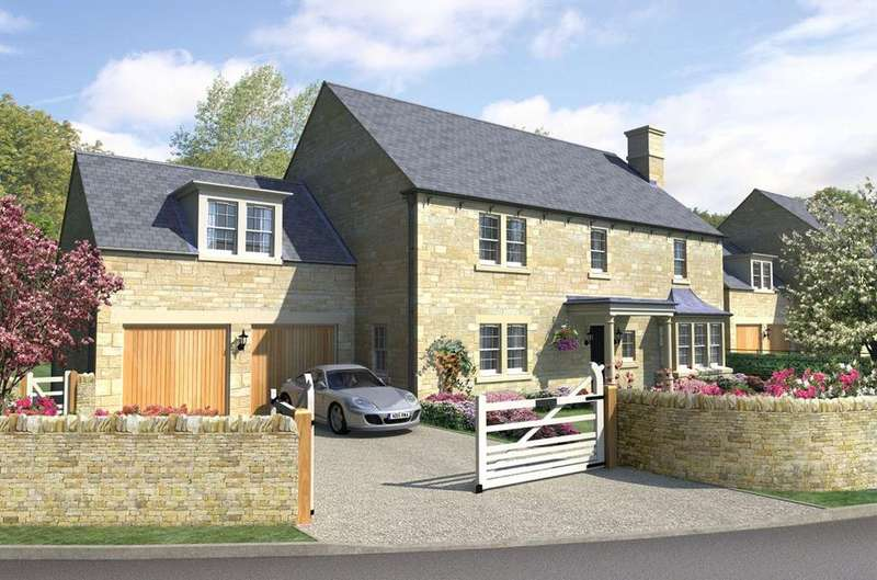 5 Bedrooms Detached House for sale in Plot 1 Roe Haugh Highford Grove, Mitford, Morpeth, Northumberland, NE61