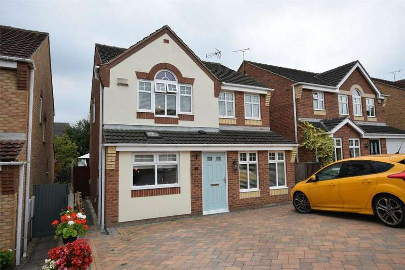 4 Bedrooms Detached House for sale in Rangewood Road, South Normanton, ALFRETON, Derbyshire