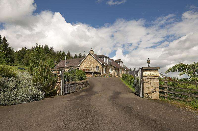 5 Bedrooms Detached House for sale in The Shielin, Keillour, Methven, Perth, Perthshire