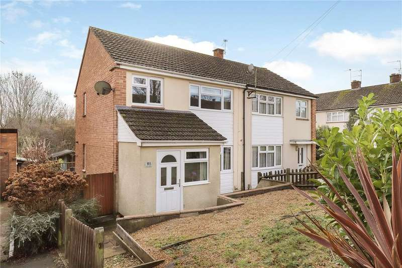 3 Bedrooms Semi Detached House for sale in Viney Avenue, Hampshire, Romsey, Hampshire, SO51