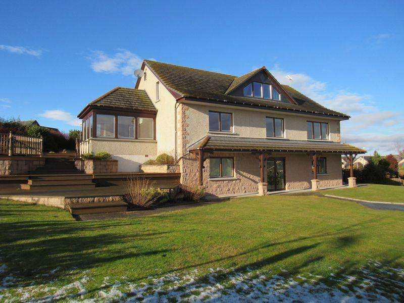 5 Bedrooms Detached Villa House for sale in Modern five bedroom family home in Inverurie.