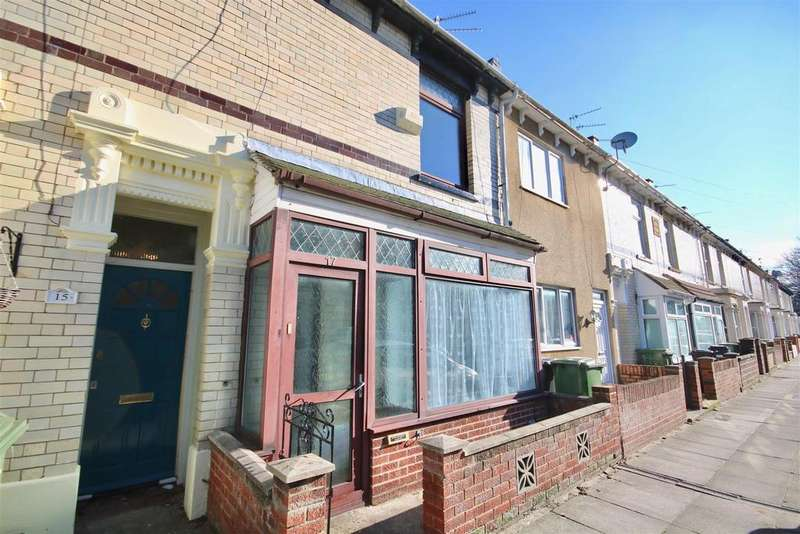 3 Bedrooms Terraced House for sale in Burleigh Road, Portsmouth