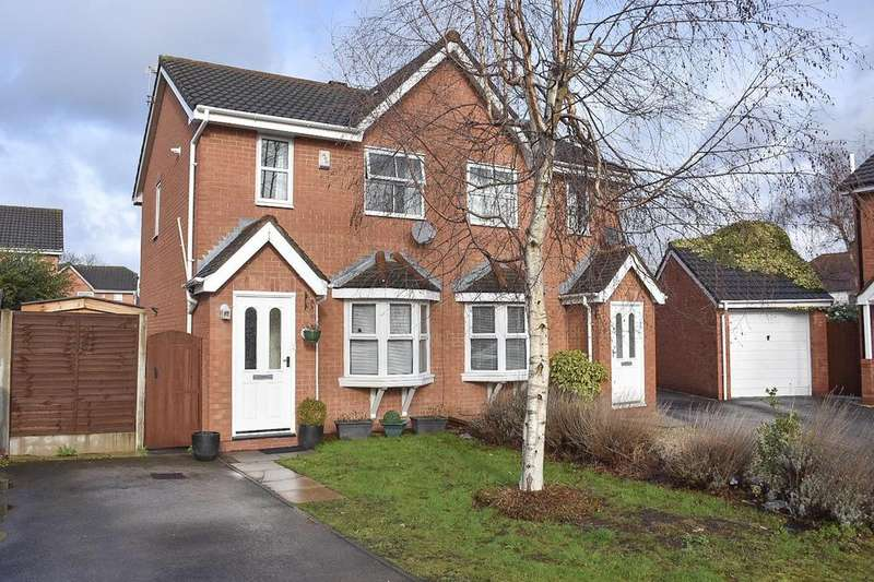 2 Bedrooms Semi Detached House for sale in Tealby Close, Northwich