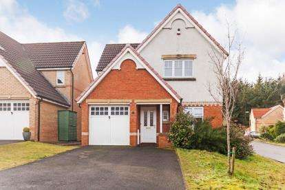 3 Bedrooms Detached House for sale in Bluebell Glade, Livingston