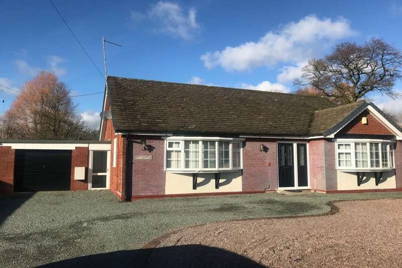 3 Bedrooms Detached Bungalow for sale in Middlewich Road, Bradfield Green, Crewe, CW1
