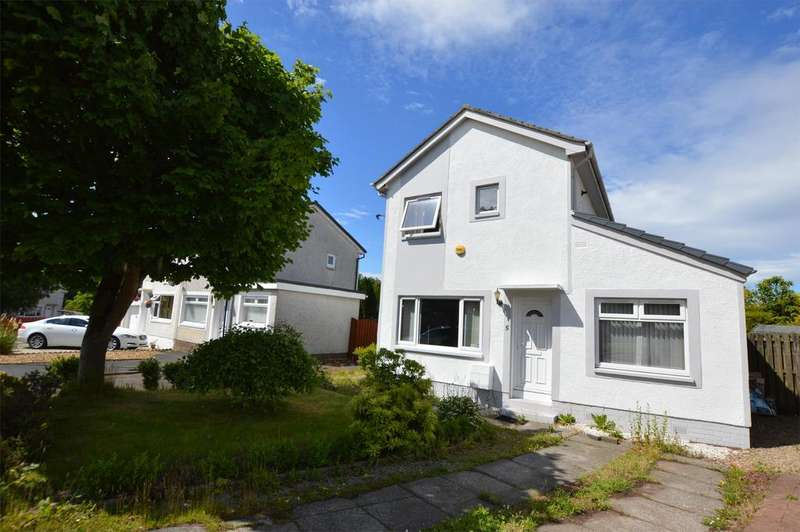 3 Bedrooms Detached House for sale in 5 Cathkin Place, KILWINNING, KA13 6TP