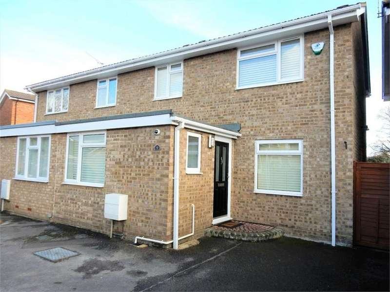 3 Bedrooms Semi Detached House for sale in Kilmuir Close, College Town, SANDHURST, Berkshire