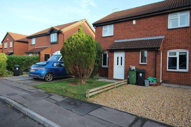 2 Bedrooms Semi Detached House for sale in Bader Close, Yate, Bristol