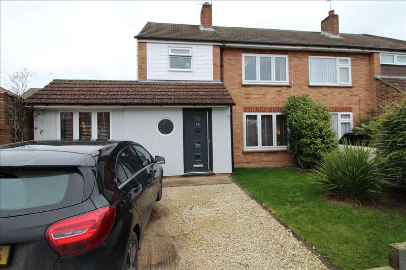 3 Bedrooms Semi Detached House for sale in Worthington Way, Prettygate, Colchester