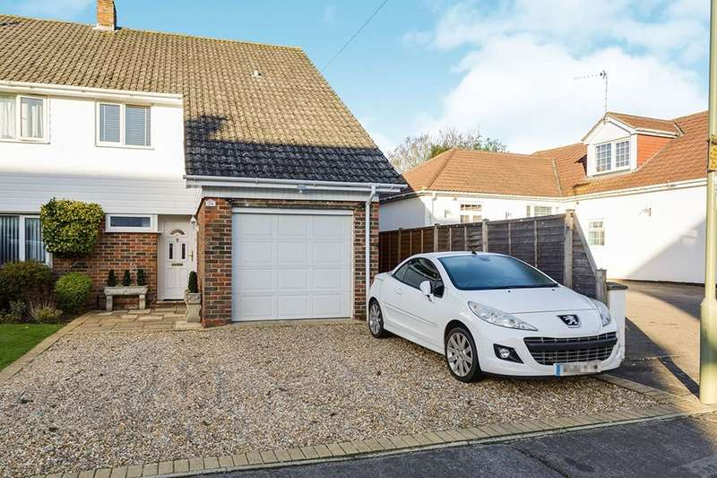 3 Bedrooms Semi Detached House for sale in Orchard Road, Havant, PO9