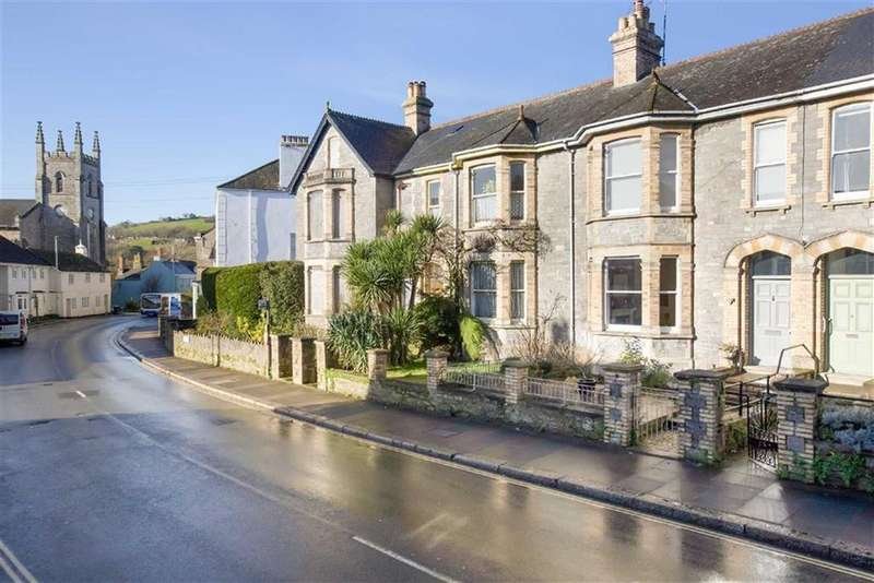 4 Bedrooms Semi Detached House for sale in Devon Terrace, Bridgetown, Totnes, Devon, TQ9