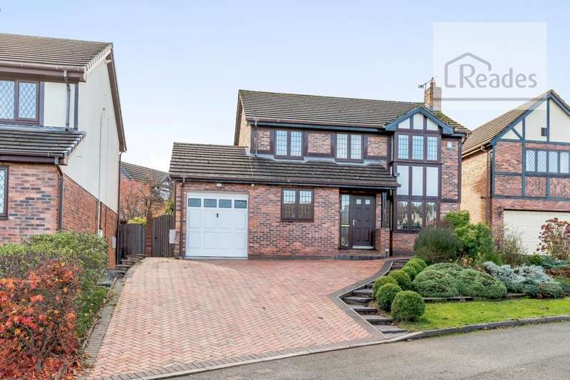 4 Bedrooms Detached House for sale in Trum Yr Hydref, Northop Hall CH7 6