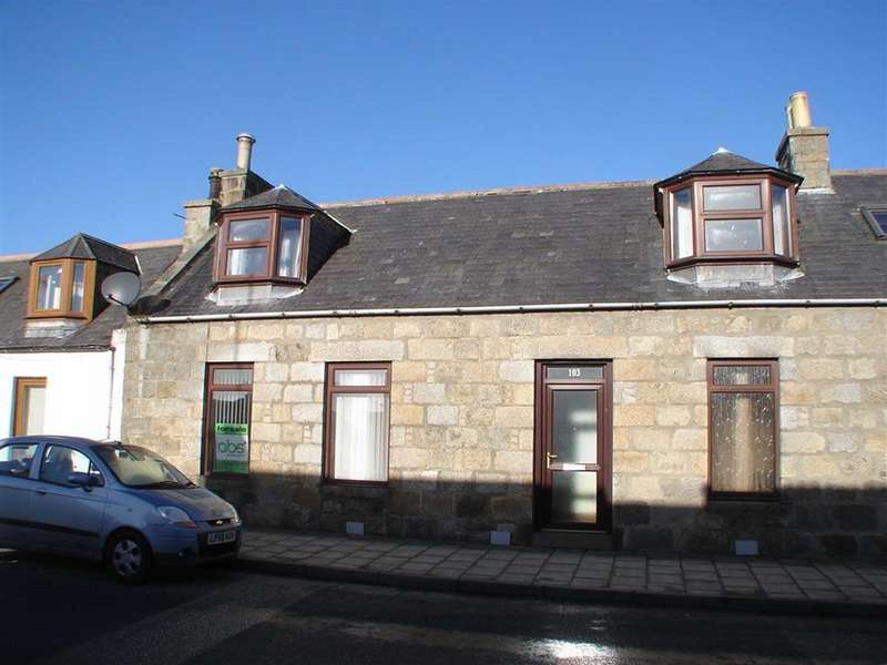 2 Bedrooms Terraced House for sale in Main Street, Aberchirder, Aberdeenshire