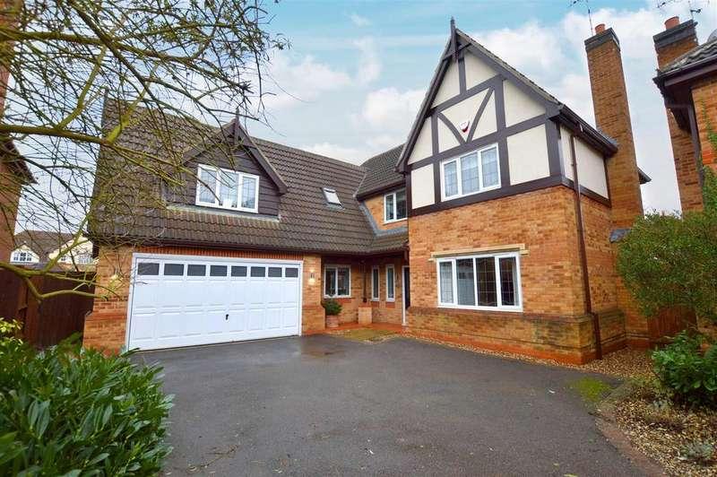 5 Bedrooms Detached House for sale in Radbourne Gate, Mickleover, Derby