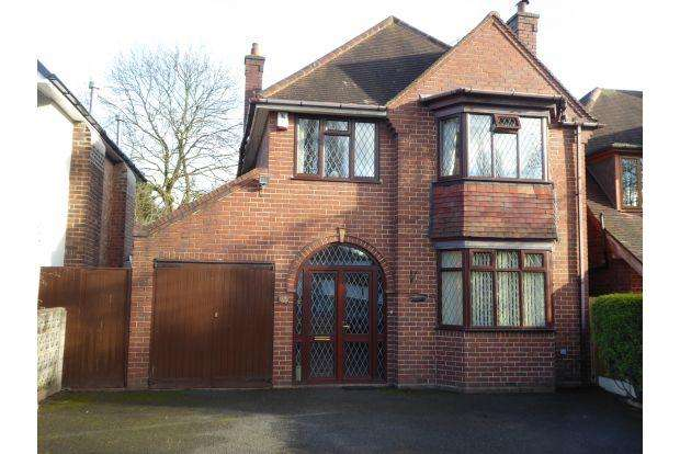 3 Bedrooms House for sale in BROADWAY NORTH, WALSALL