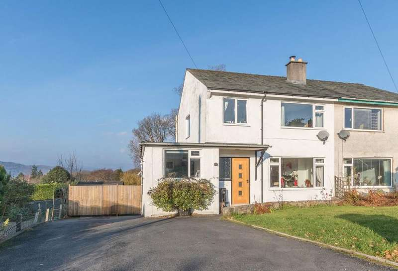 4 Bedrooms Semi Detached House for sale in 7 Meadow Road, Windermere