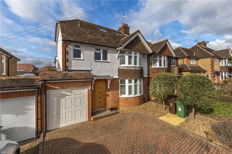 4 Bedrooms Semi Detached House for sale in Fairmead Avenue, Harpenden, Hertfordshire