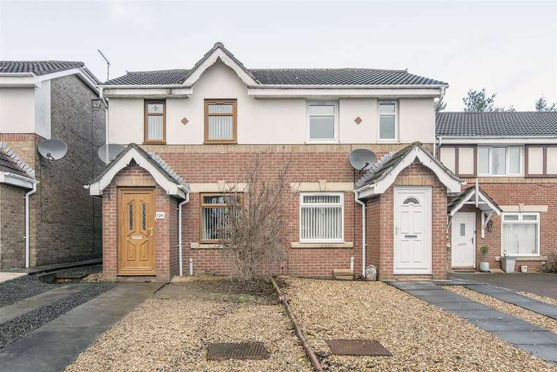 2 Bedrooms Semi Detached House for sale in Norwood Avenue, Bonnybridge