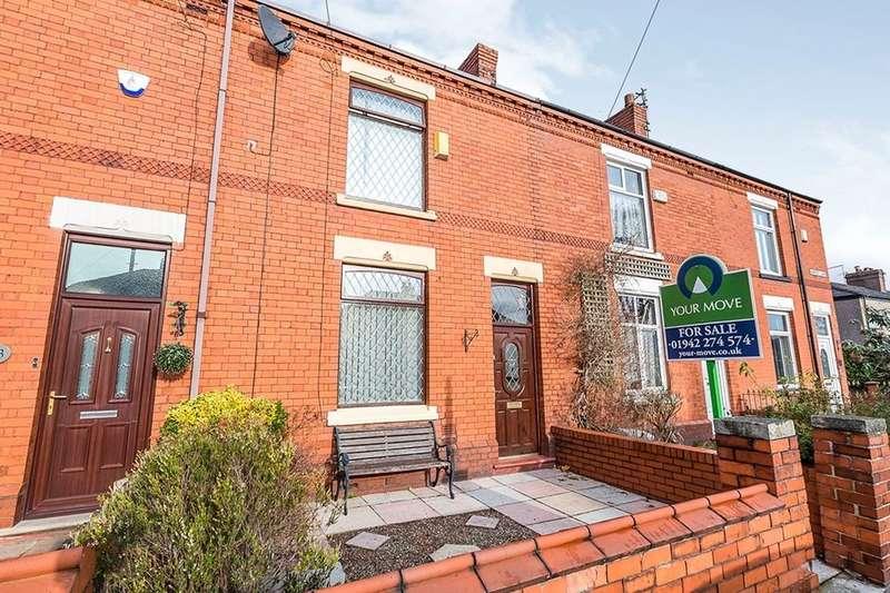 2 Bedrooms Terraced House for sale in Harvey Lane, Golborne, Warrington, WA3