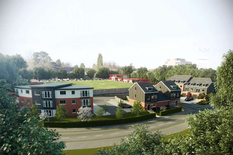2 Bedrooms Apartment Flat for sale in Robins Gate, Larges Lane, Bracknell, Berkshire, RG12