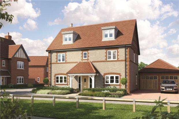 5 Bedrooms Detached House for sale in Eldridge Park, Bell Foundry Lane, Wokingham