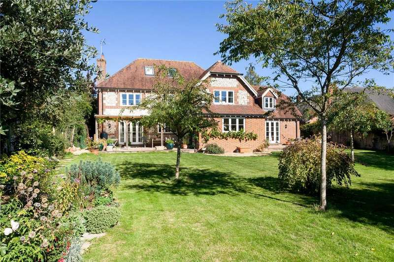 5 Bedrooms Detached House for sale in Horse Shoe Lane, Ibthorpe, Andover, Hampshire