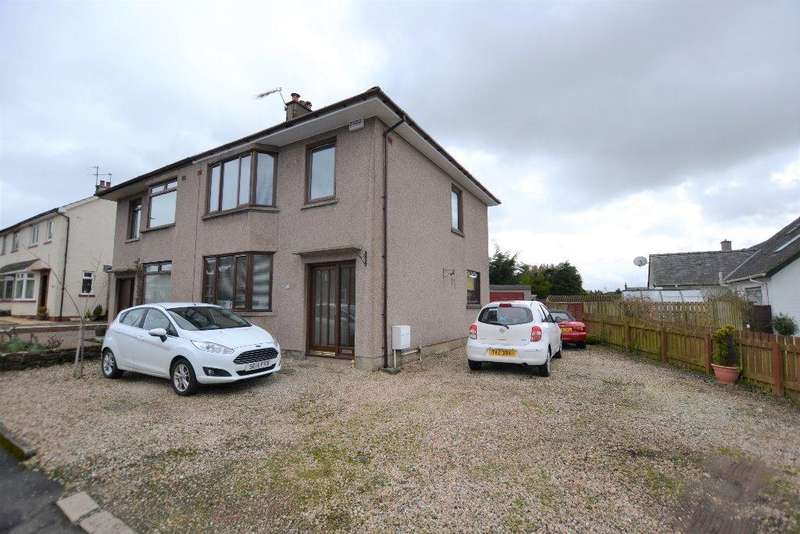 3 Bedrooms Semi Detached House for sale in East Park Avenue, Mauchline, East Ayrshire, KA5 5BS