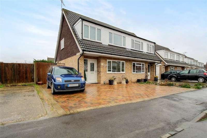 3 Bedrooms Semi Detached House for sale in Springdale, Earley, Reading, Berkshire, RG6