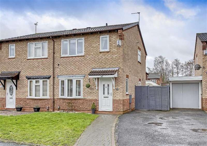 3 Bedrooms Semi Detached House for sale in 46, Tyning Close, Pendeford, Wolverhampton, West Midlands, WV9