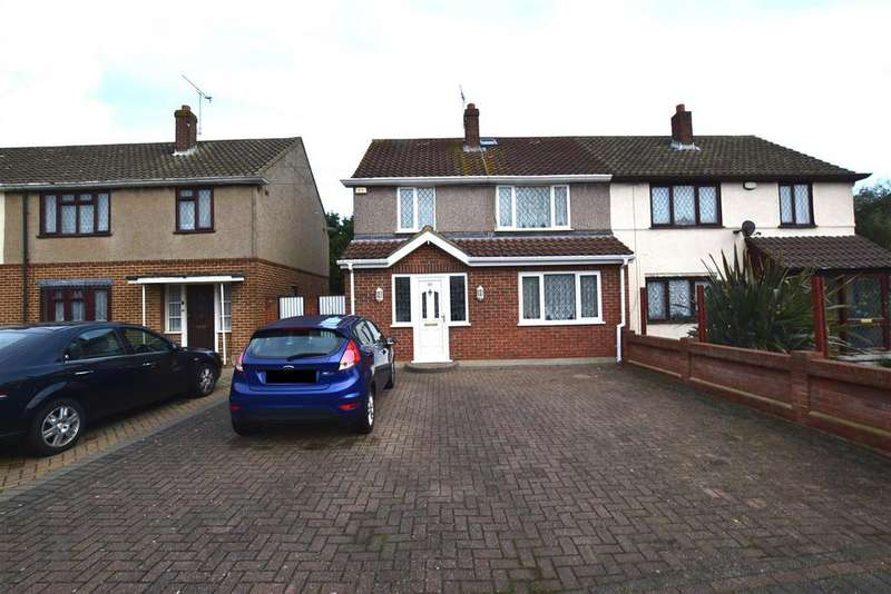 5 Bedrooms Semi Detached House for sale in Padnall Road, Chadwell Heath, Romford
