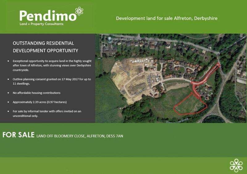 Land Commercial for sale in Damstead Park, Alfreton, DE55 7AN