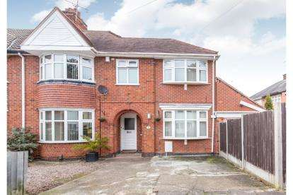 5 Bedrooms Semi Detached House for sale in Broadway Road, Leicester