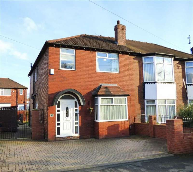 4 Bedrooms Semi Detached House for sale in Omer Drive, Burnage, Manchester, M19
