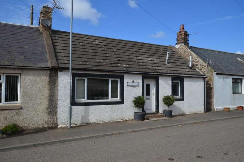 3 Bedrooms End Of Terrace House for sale in Main Street, Whitsome, Duns, Berwickshire, Scottish Borders