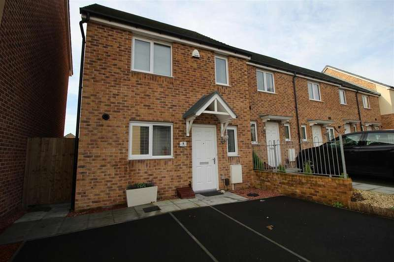 3 Bedrooms End Of Terrace House for sale in Penkin Hill, Newport