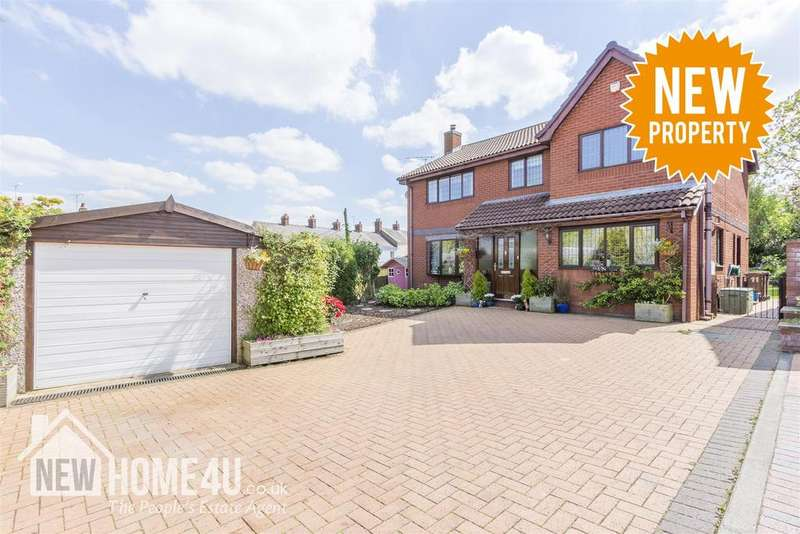 4 Bedrooms Detached House for sale in Church Walk,, Vicarage Road, Bagillt