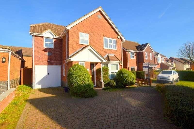 4 Bedrooms Detached House for sale in Saffron Close, Bushmead, Luton, LU2 7GF