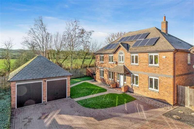 5 Bedrooms Detached House for sale in Cricket Lane, Loughborough, LE11