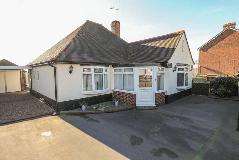 2 Bedrooms Detached Bungalow for sale in Bridle Road, Mastin Moor, Chesterfield