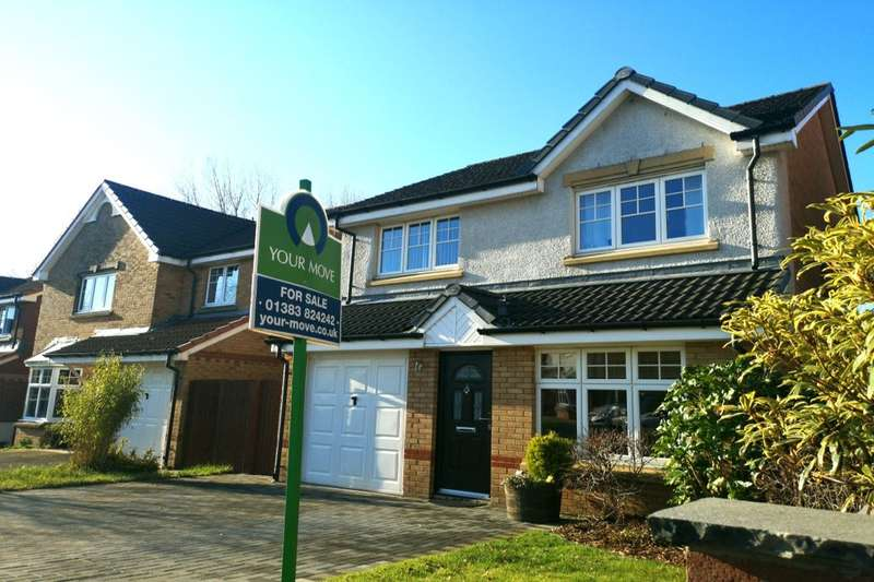 4 Bedrooms Detached House for sale in Peasehill Gait, Rosyth, Dunfermline, KY11